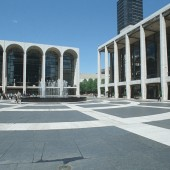 Central Plaza in the Lincoln Center of New York