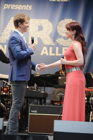 Jeremy Hays and Sierra Boggess of the cast of 'The Phantom of the Opera'