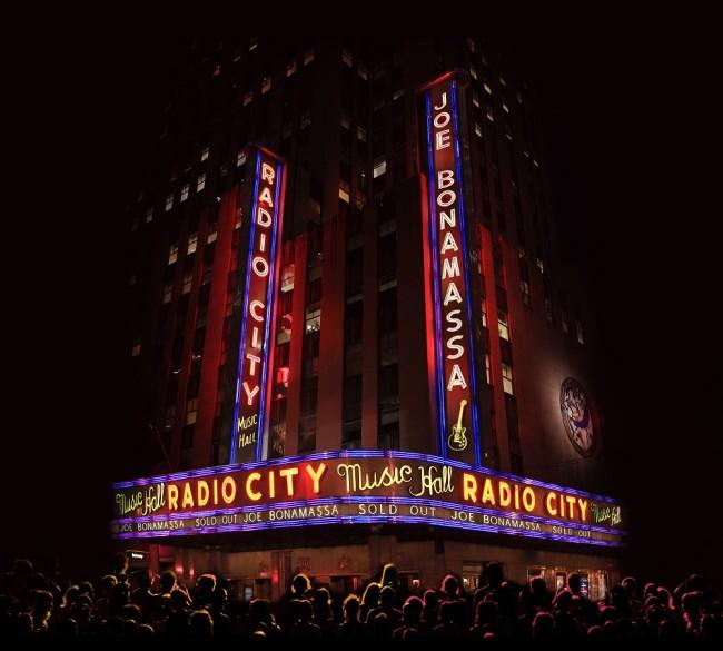 Joe Bonamassa 'Live At Radio City Music Hall'