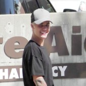 Justin Bieber is seen on October 7, 2015 in Los Angeles, CA