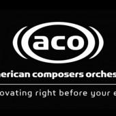 ACO Logo - Dec 7, 2012 - American Composers Orchestra /