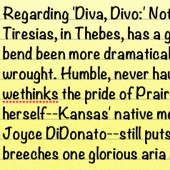 Classicalite's Liner Notes for Joyce DiDonato's 'ReJoyce'