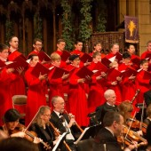 St. Thomas Choir of Men & Boys w/ Concert Royal (Photo by Ira Lippke, courtesy of Dan Dutcher Public Relations)