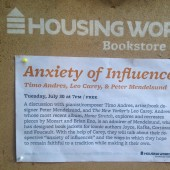 EXCLUSIVE: Timo Andres, 'Anxiety of Influence' @ Housing Works Books