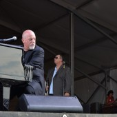 Billy Joel and Mark Rivera