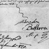 Beethoven's Signature