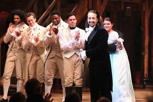 'Hamilton' Broadway Opening Night