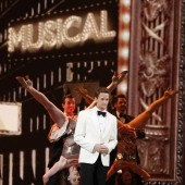 Host Neil Patrick Harris performs during the American Theatre Wing's 66th annual Tony Awards in New York, June 10, 2012.