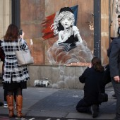 New Banksy Artwork Depicting Crying 'Les Miserable' Poster Child Emerges in Paris