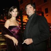 Chiara Muti and Riccardo Muti