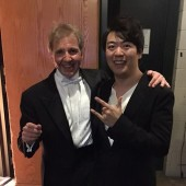 Thierry Fischer with Lang Lang