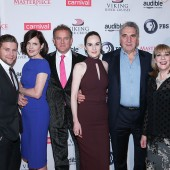 Allen Leech, Elizabeth McGovern, Hugh Bonneville, Michelle Dockery, Jim Carter, Phyllis Logan and Kevin Doyle