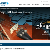 Classicalite Recording News: Universal, Sony, Warner and More Join Law Suit Against SiriusXM Satellite Radio
