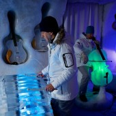 Sweden's Ice Orchestra Plays Bach on Frozen Instruments Made from Sculptor Tim Linhart