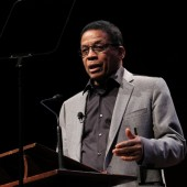 VIDEO: Harvard's Herbie Hancock Delivers First of Six Lectures as Part of the Norton's Professor of Poetry Series