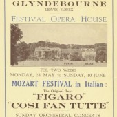 80th Birthday Image Released by Glyndebourne