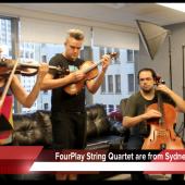 Clite A.V. Club: FourPlay String Quartet