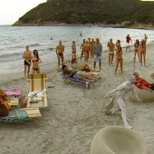 Turandot on the Beach, Anyone? Buff Members of Teatro Lirico di Cagliari Perform Puccini for Seaside Crowd