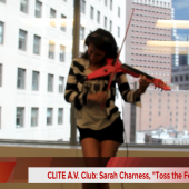 Clite A.V. Club: Sarah Charness,