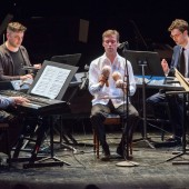 Phillip Glass, Steve Reich, Nico Muhly, David Cossin, Timo Andres,