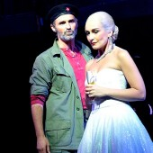 Marti Pellow and Madalena Alberto in 'Evita'