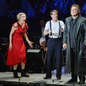 Emma Thompson and Bryn Terfel in 'Sweeney Todd' at Lincoln Center