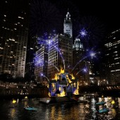 PHOTOS: Chicago Prepares for the 'Great Chicago Fire Festival,' a Flamboyant Celebration of the City's Rebirth after 1871