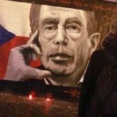 Vaclav Havel Commemorative Graffiti