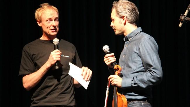 John Schaefer and Eric Jacobsen