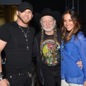 Brantley Gilbert, Willie Nelson, and Jana Kramer